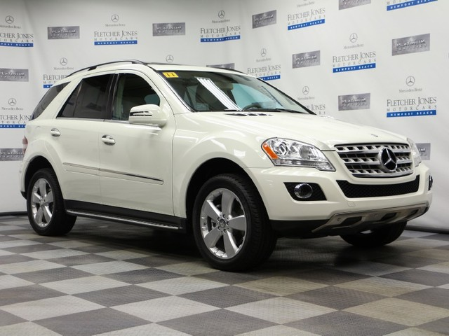 Pre-Owned 2011 Mercedes-Benz M-Class ML350 4MATIC All Wheel Drive SUV