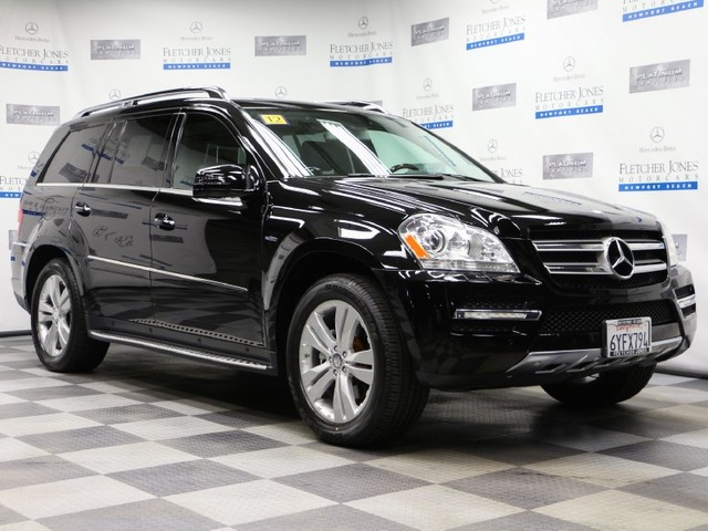 Certified Pre-Owned 2012 Mercedes-Benz GL-Class GL350 BlueTEC All Wheel Drive SUV