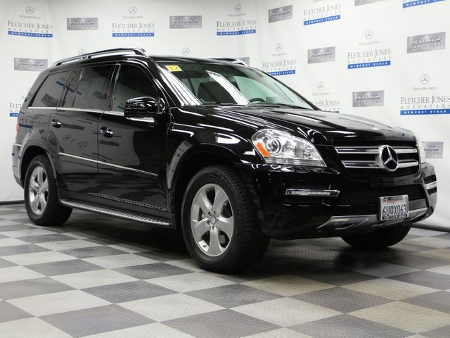 Certified Pre-Owned 2012 Mercedes-Benz GL-Class GL450 4MATIC All Wheel Drive SUV