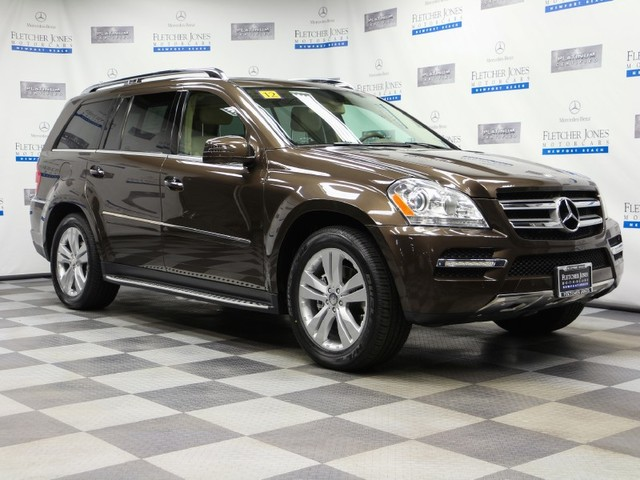 Certified Pre-Owned 2012 Mercedes-Benz GL-Class GL450 All Wheel Drive SUV