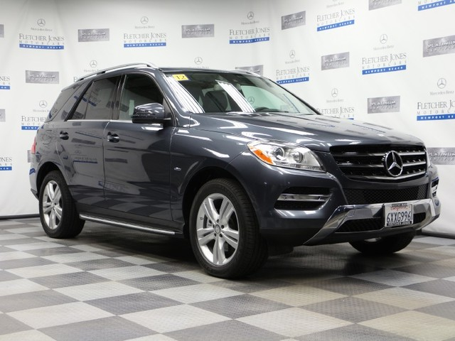 Certified Pre-Owned 2012 Mercedes-Benz M-Class ML350 BlueTEC 4MATIC All Wheel Drive SUV
