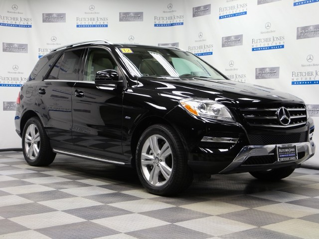 Certified Pre-Owned 2012 Mercedes-Benz M-Class ML350 4MATIC All Wheel Drive Wagon 4 Dr.