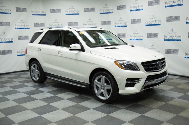Certified Pre-Owned 2014 Mercedes-Benz M-Class ML350 4MATIC All Wheel Drive SUV