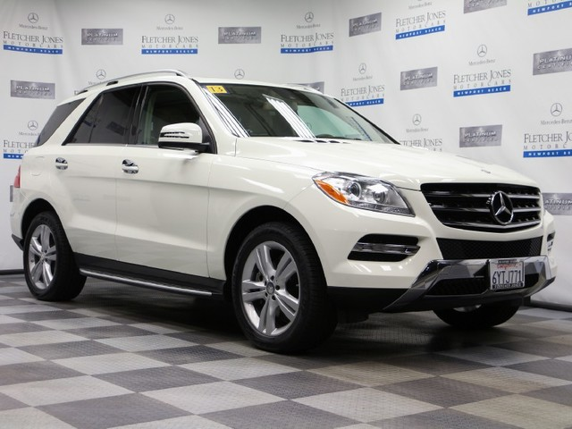 Certified Pre-Owned 2013 Mercedes-Benz M-Class ML350 Rear Wheel Drive SUV