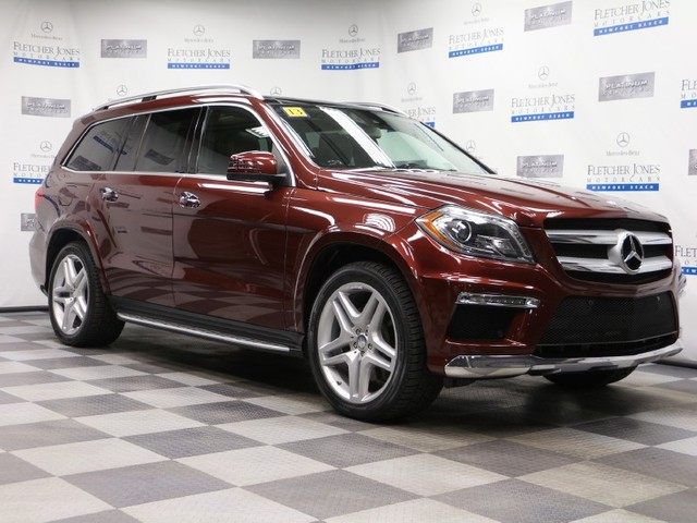 Certified Pre-Owned 2013 Mercedes-Benz GL-Class GL550 All Wheel Drive SUV