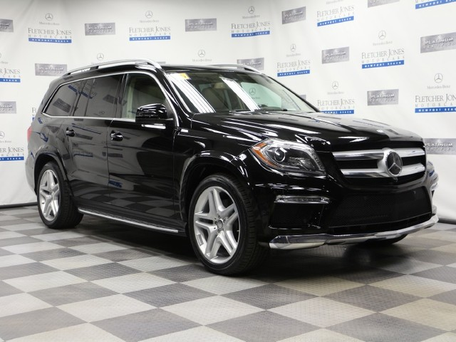 Certified Pre-Owned 2015 Mercedes-Benz GL-Class GL550 4MATIC All Wheel Drive SUV