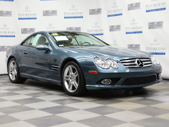 Pre-Owned 2007 Mercedes-Benz SL-Class SL550 Rear Wheel Drive Coupe