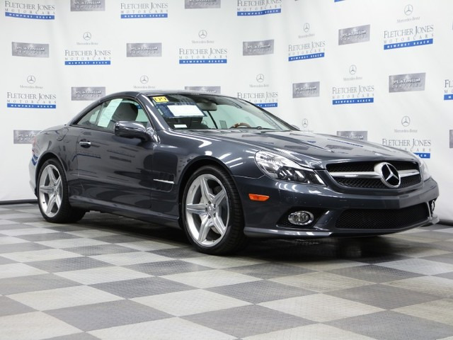 Certified Pre-Owned 2009 Mercedes-Benz SL-Class SL550 Rear Wheel Drive Coupe