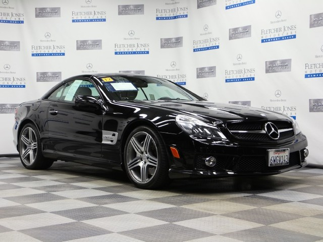 Certified Pre-Owned 2012 Mercedes-Benz SL-Class SL63 AMG Rear Wheel Drive Roadster