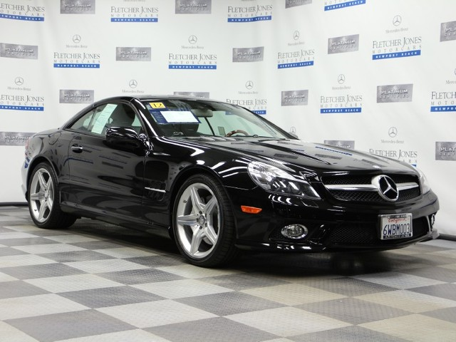 Certified Pre-Owned 2012 Mercedes-Benz SL-Class SL550 Rear Wheel Drive Roadster