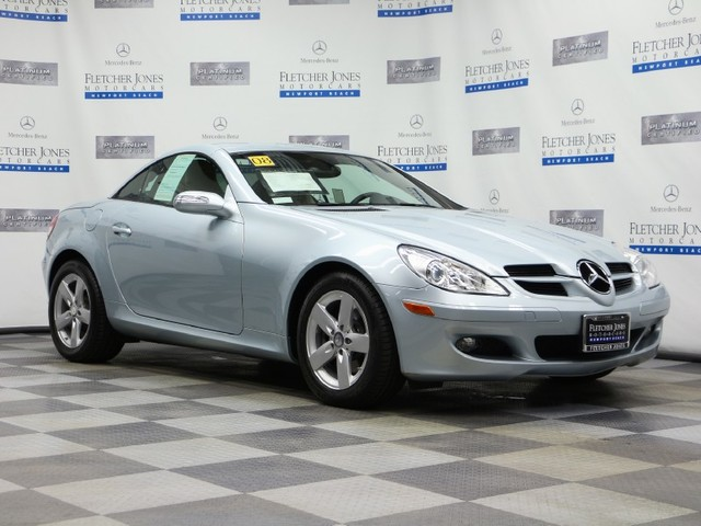 Pre-Owned 2008 Mercedes-Benz SLK-Class SLK280 Rear Wheel Drive Coupe