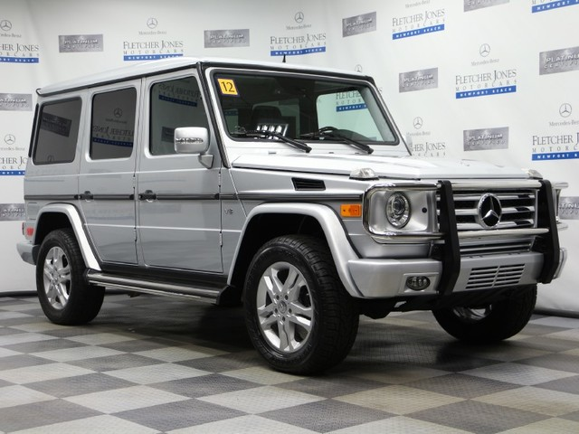 Certified Pre-Owned 2012 Mercedes-Benz G-Class G550 All Wheel Drive SUV