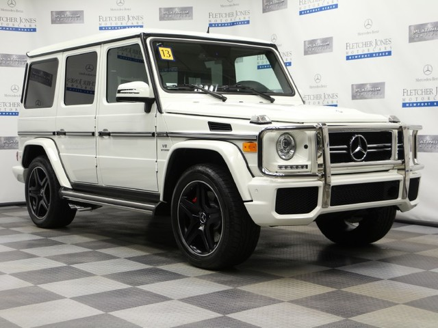 Certified Pre-Owned 2013 Mercedes-Benz G-Class G63 AMG All Wheel Drive SUV