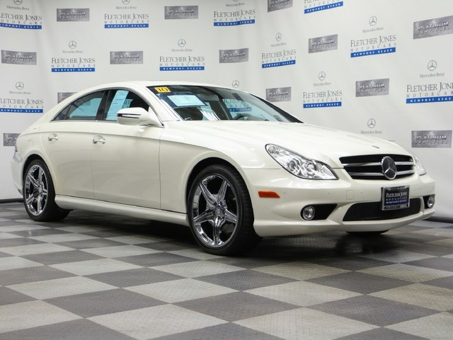 Certified Pre-Owned 2010 Mercedes-Benz CLS-Class CLS550 Rear Wheel Drive Sedan
