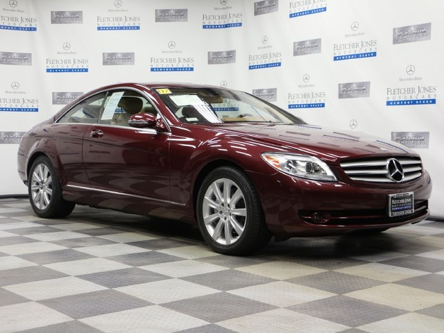 Pre-Owned 2007 Mercedes-Benz CL-Class CL550 Rear Wheel Drive Coupe