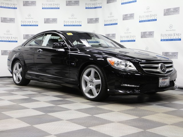 Certified Pre-Owned 2011 Mercedes-Benz CL-Class CL550 4MATIC All Wheel Drive Coupe