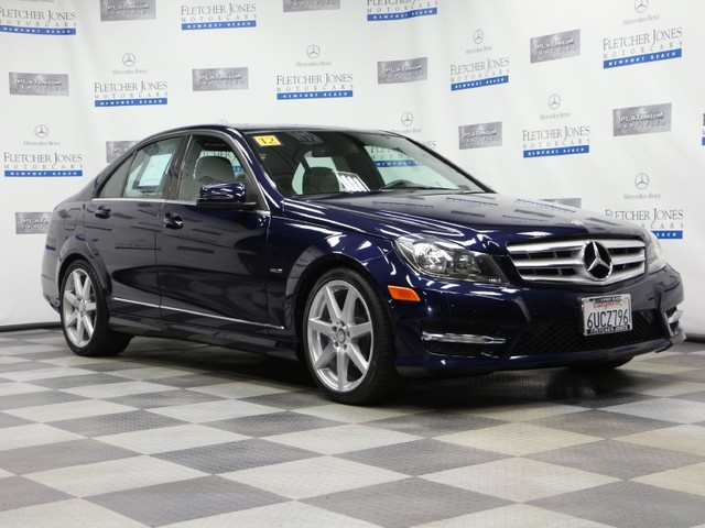 Certified Pre-Owned 2012 Mercedes-Benz C-Class C250 Sport Rear Wheel Drive Sedan