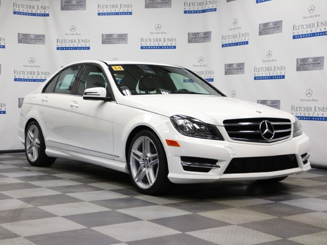 Certified Pre-Owned 2014 Mercedes-Benz C-Class C250 Sport Rear Wheel Drive Sedan