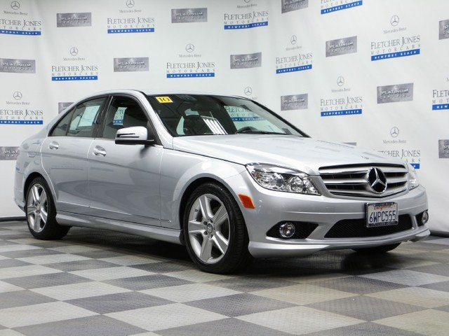 Pre-Owned 2010 Mercedes-Benz C-Class C300 Sport Rear Wheel Drive Sedan