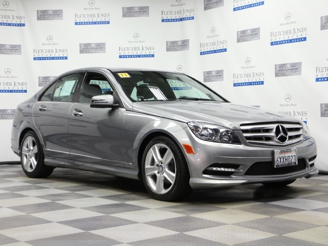 Pre-Owned 2011 Mercedes-Benz C-Class C300 Sport Rear Wheel Drive Sedan