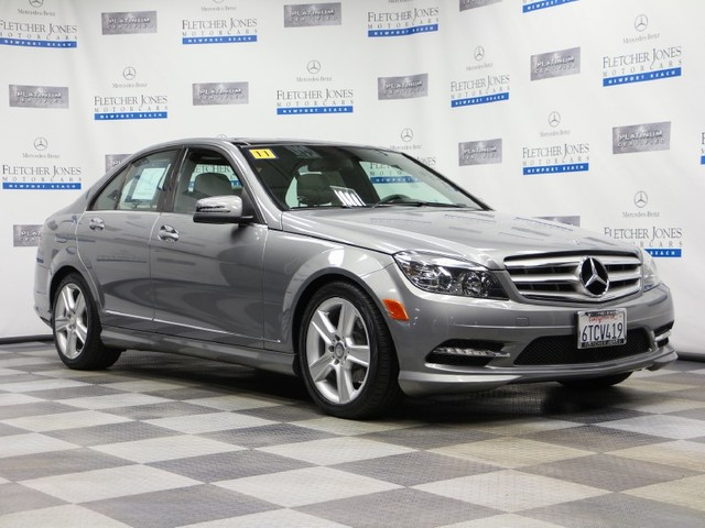 Certified Pre-Owned 2011 Mercedes-Benz C-Class C300 Sport Rear Wheel Drive Sedan