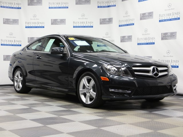 Certified Pre-Owned 2013 Mercedes-Benz C-Class C250 Rear Wheel Drive Coupe