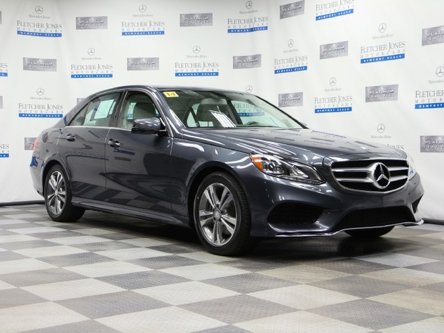 Certified Pre-Owned 2014 Mercedes-Benz E-Class E250 BlueTEC Sport Rear Wheel Drive Sedan
