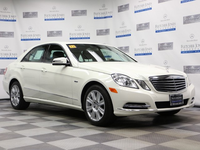 Certified Pre-Owned 2012 Mercedes-Benz E-Class E350 Luxury Rear Wheel Drive Sedan