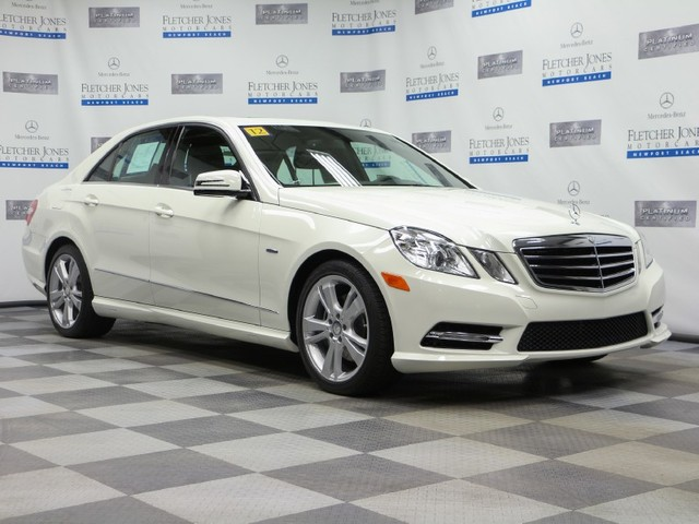 Certified Pre-Owned 2012 Mercedes-Benz E-Class E350 Sport Rear Wheel Drive Sedan