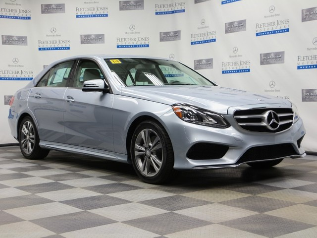 Certified Pre-Owned 2014 Mercedes-Benz E-Class E250 BlueTEC 4MATIC Sport All Wheel Drive Sedan