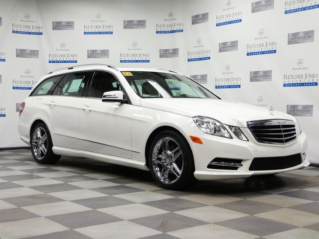 Certified Pre-Owned 2013 Mercedes-Benz E-Class E350 4MATIC Sport All Wheel Drive Wagon