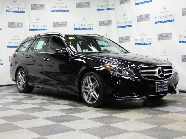 Certified Pre-Owned 2014 Mercedes-Benz E-Class E350 Sport All Wheel Drive Wagon