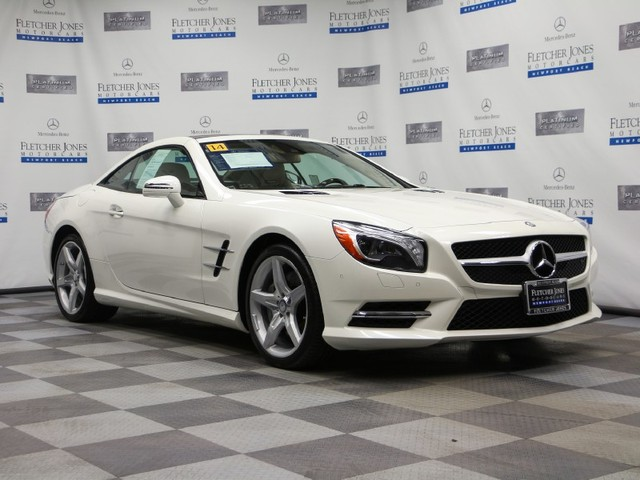 Certified Pre-Owned 2014 Mercedes-Benz SL-Class SL550 Rear Wheel Drive Coupe