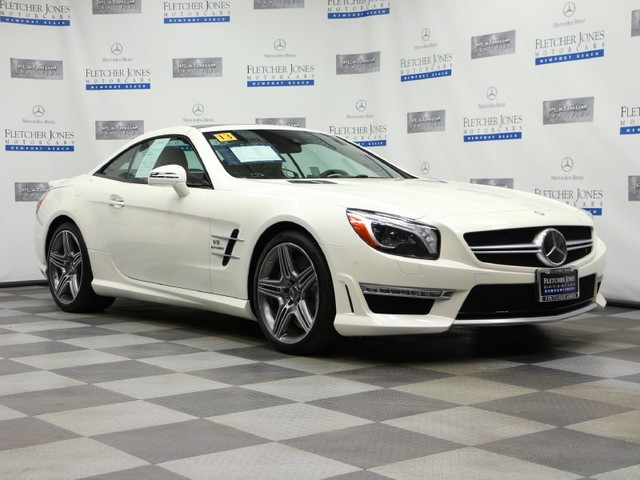 Certified Pre-Owned 2013 Mercedes-Benz SL-Class SL63 AMG Rear Wheel Drive Coupe