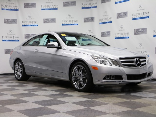 Certified Pre-Owned 2010 Mercedes-Benz E-Class E350 Rear Wheel Drive Coupe