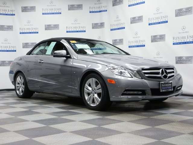 Certified Pre-Owned 2012 Mercedes-Benz E-Class E350 Rear Wheel Drive Convertible