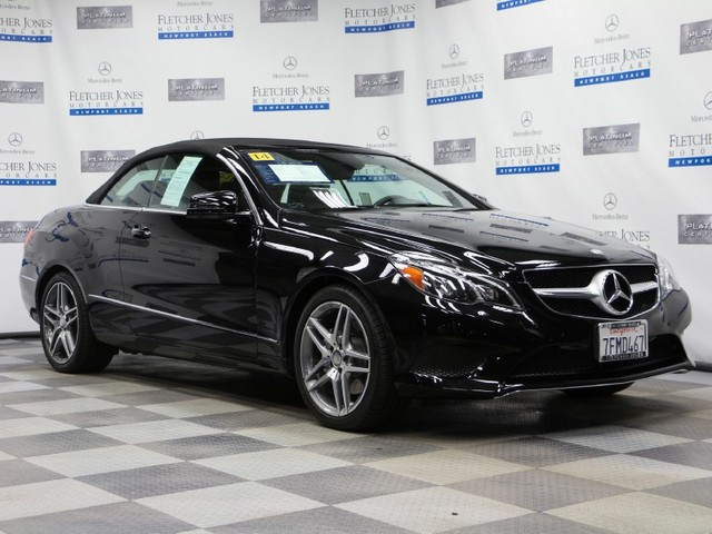 Certified Pre-Owned 2014 Mercedes-Benz E-Class E350 Rear Wheel Drive Coupe