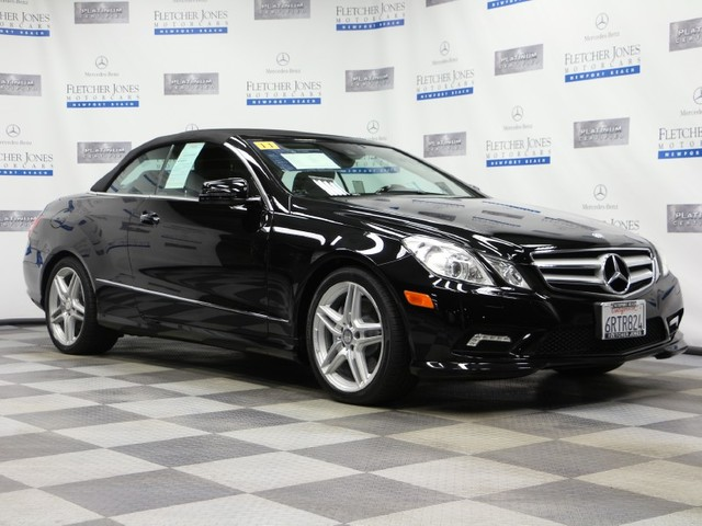 Certified Pre-Owned 2011 Mercedes-Benz E-Class E550 Rear Wheel Drive Coupe