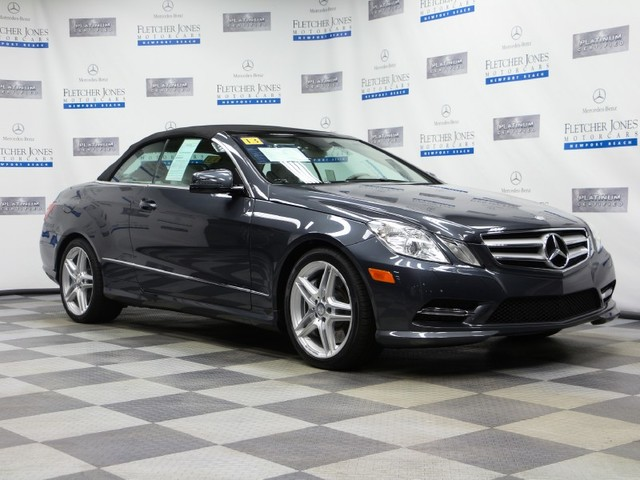 Certified Pre-Owned 2013 Mercedes-Benz E-Class E550 Rear Wheel Drive Coupe