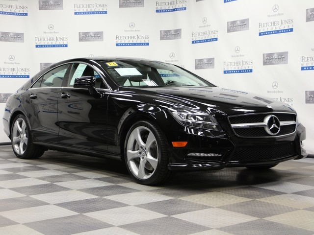 Certified Used Mercedes-Benz CLS CLS550