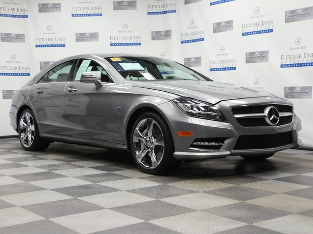 Certified Pre-Owned 2012 Mercedes-Benz CLS CLS550 Rear Wheel Drive Sedan