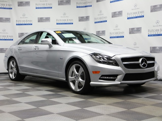 Certified Pre-Owned 2012 Mercedes-Benz CLS-Class CLS550 Rear Wheel Drive Sedan