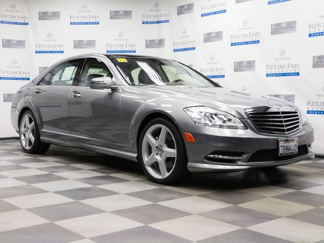 Certified Pre-Owned 2013 Mercedes-Benz S-Class S550 Rear Wheel Drive Sedan