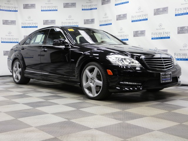 Certified Pre-Owned 2012 Mercedes-Benz S-Class S550 Rear Wheel Drive Sedan