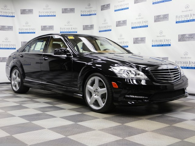 Certified Pre-Owned 2013 Mercedes-Benz S-Class S550