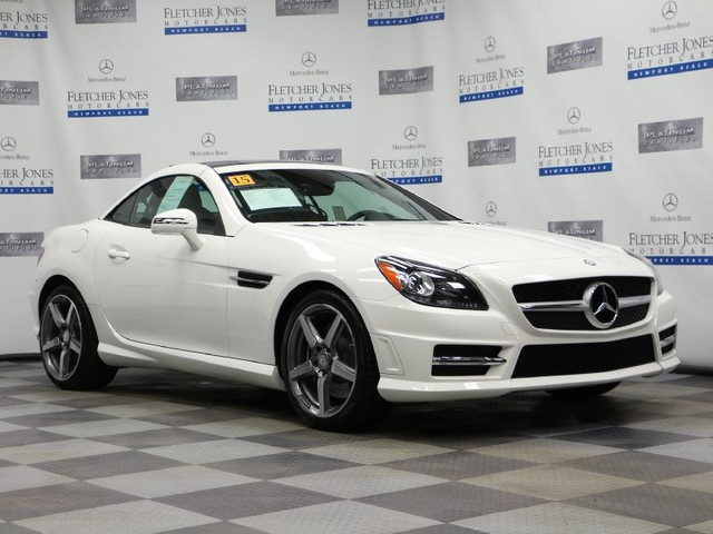 Pre-Owned 2015 Mercedes-Benz SLK-Class SLK250 Rear Wheel Drive Convertible