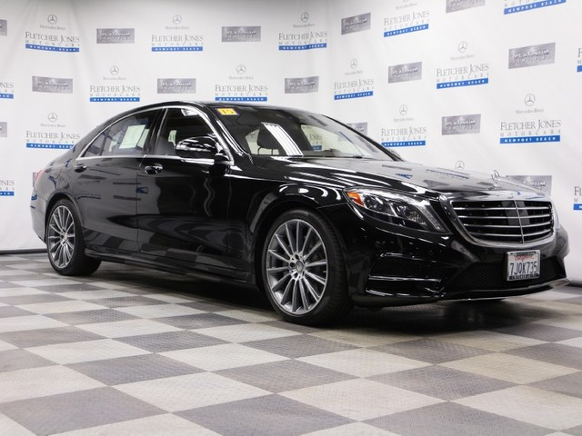 Certified Pre-Owned 2015 Mercedes-Benz S-Class S550 Rear Wheel Drive Sedan
